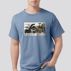 1970 U.S. Dinosaurs Postage Stamp T-Shirt