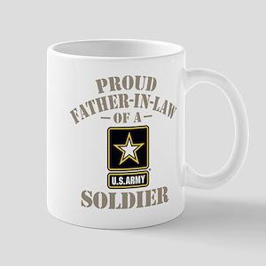 Army Father In Law 11 oz Ceramic Mug