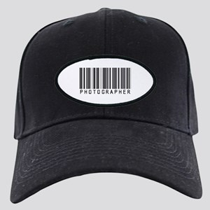 Photographer Barcode Black Cap