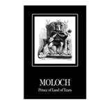 Moloch Postcards (Package of 8)