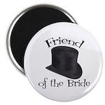 Top Hat Bride's Friend Magnet