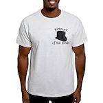 Top Hat Bride's Friend Light T-Shirt