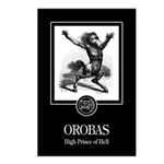 Orobas Postcards (Package of 8)