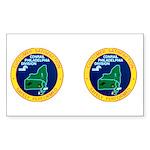 Conrail Philadelphia Division Rectangle Sticker