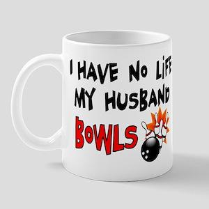 No Life Husband Bowls Mug