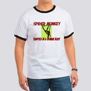 Spider Monkey trapped in a human body Ringer T