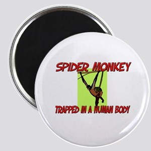 Spider Monkey trapped in a human body Magnet