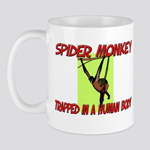 Spider Monkey trapped in a human body Mug