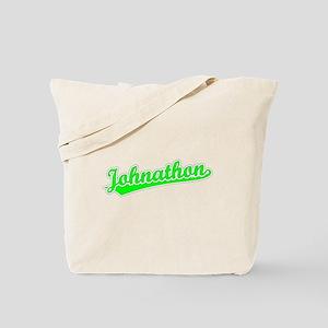 Retro Johnathon (Green) Tote Bag