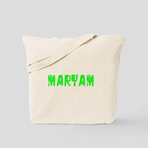 Maryam Faded (Green) Tote Bag