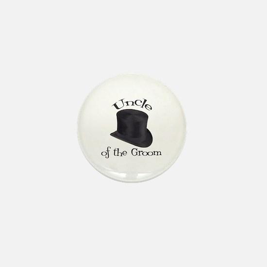 Top Hat Bride's Cousin Mini Button