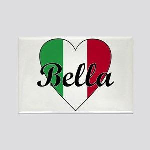 Italian Bella Rectangle Magnet