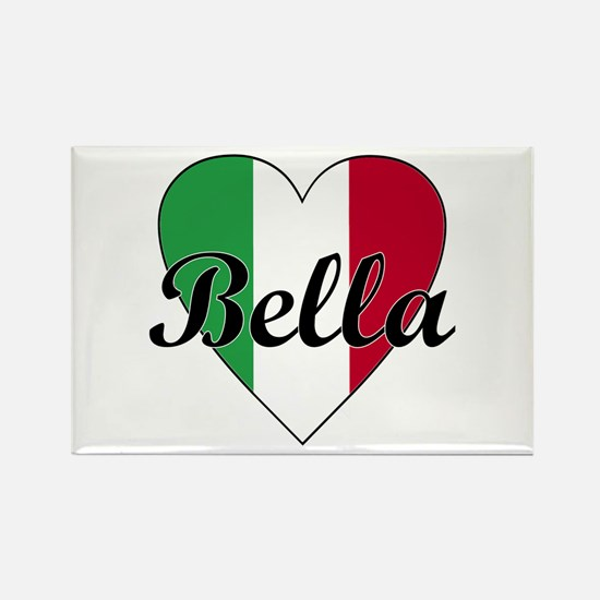 Italian Bella Rectangle Magnet (10 pack)
