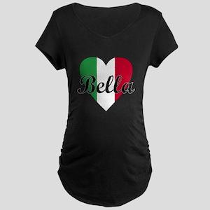 Italian Bella Maternity Dark T-Shirt