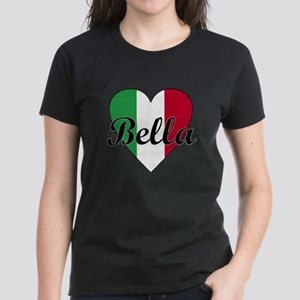 Italian Bella Women's Dark T-Shirt