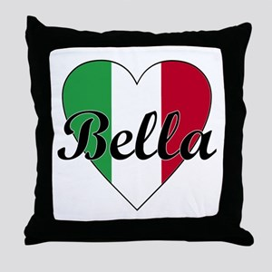 Italian Bella Throw Pillow