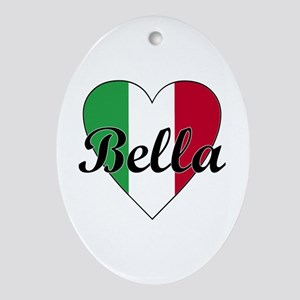 Italian Bella Oval Ornament