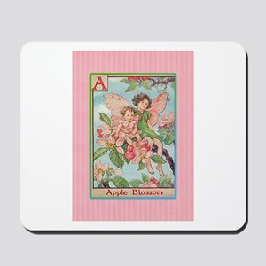 Apple Blossom Fairies Mousepad