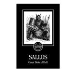 Sallos Postcards (Package of 8)