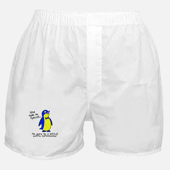 God Made Me Special 1 (Down Syndrome) Boxer Shorts