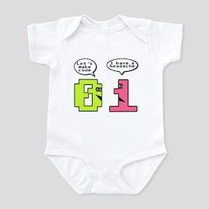 Opposites Attract Infant Bodysuit