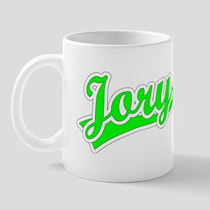 Retro Jory (Green) Mug