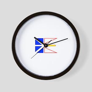 Canada - Newfoundland and Lab Wall Clock