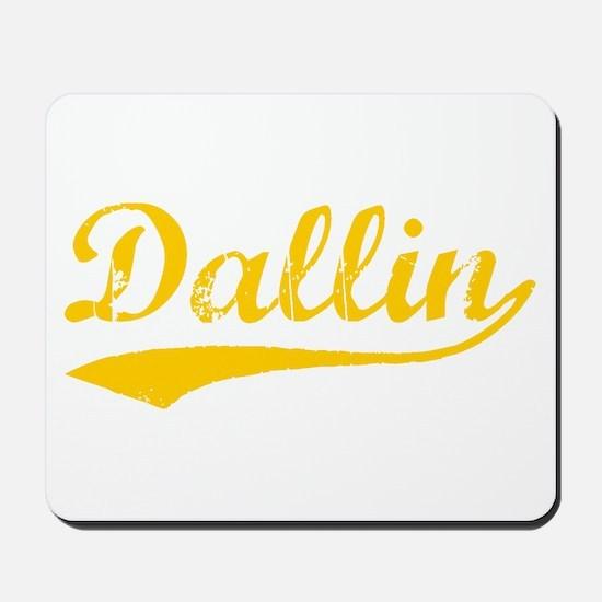 Vintage Dallin (Orange) Mousepad