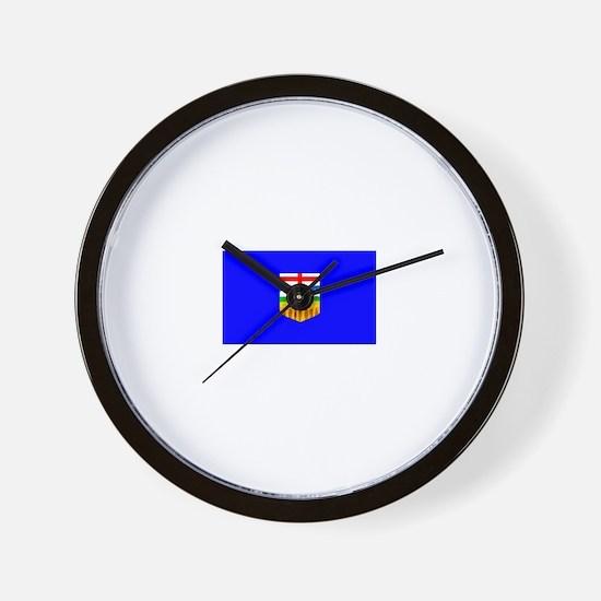 Canada - Alberta Wall Clock