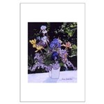 Lilac and Iris Bouquet - Large Poster