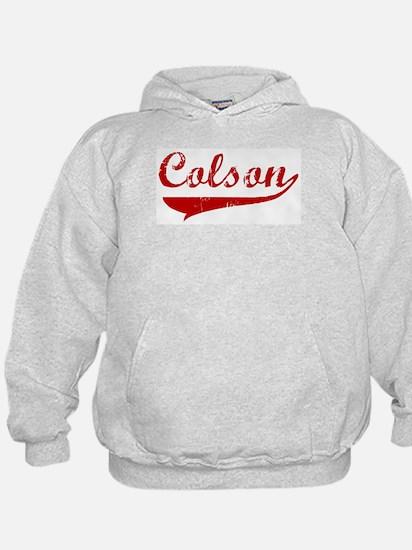 Colson (red vintage) Hoodie
