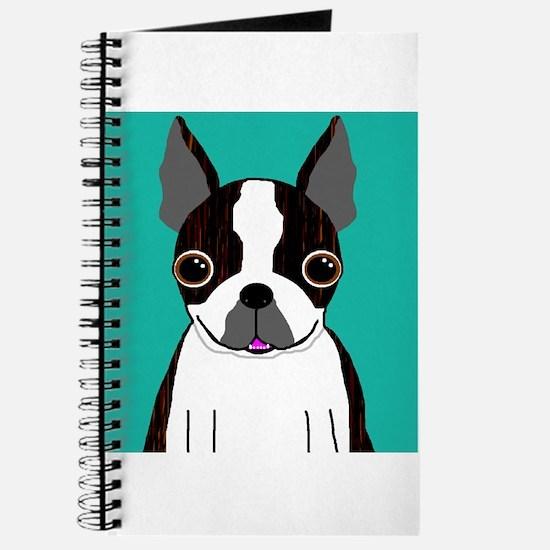 Boston Terrier (Dark Brindle) Journal