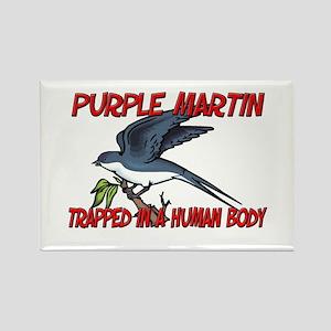 Purple Martin trapped in a human body Rectangle Ma
