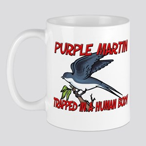 Purple Martin trapped in a human body Mug
