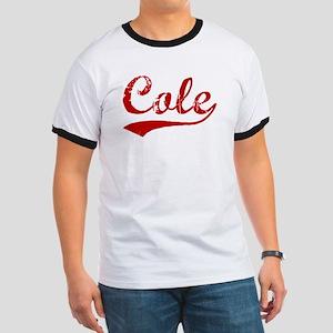 Cole (red vintage) Ringer T
