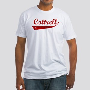Cottrell (red vintage) Fitted T-Shirt
