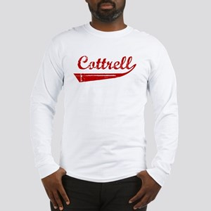 Cottrell (red vintage) Long Sleeve T-Shirt