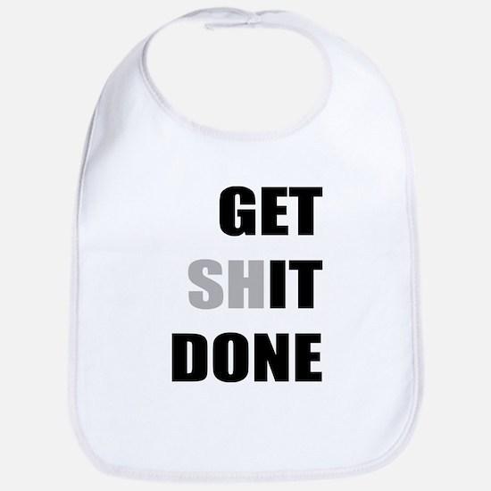 Get it done Baby Bib