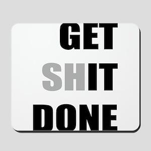 Get it done Mousepad
