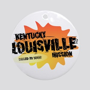 Kentucky Louisville Mission Ornament (Round)