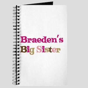 Braeden's Big Sister Journal