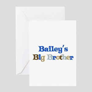 Bailey's Big Brother Greeting Card
