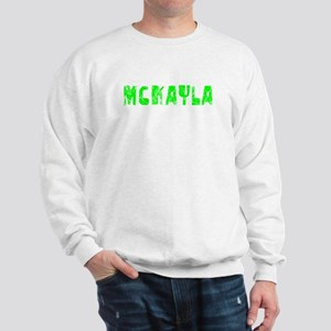 Mckayla Faded (Green) Sweatshirt