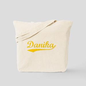 Vintage Danika (Orange) Tote Bag