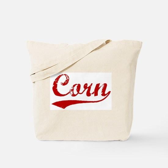 Corn (red vintage) Tote Bag