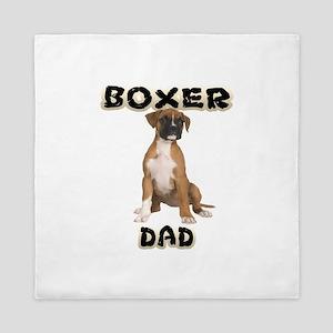 Boxer Dad Queen Duvet