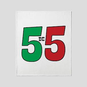 Cinco de Mayo Throw Blanket