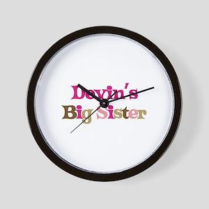 Devin's Big Sister Wall Clock