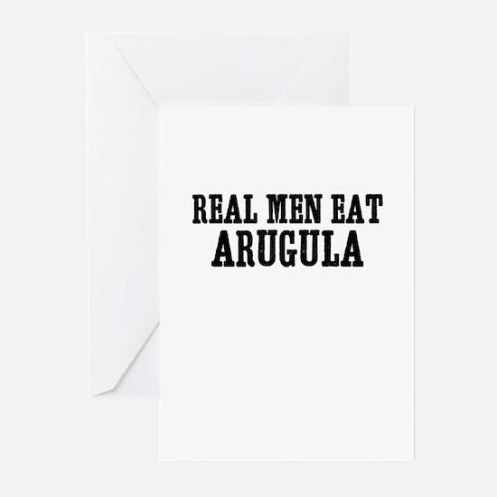 Real Men Eat Arugula Greeting Cards (Pk of 10)