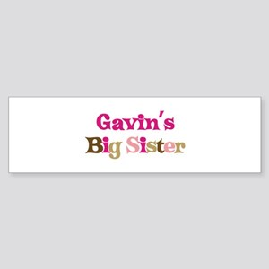 Gavin's Big Sister Bumper Sticker